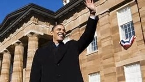 U.S. Barack Obama announced his candidacy at the Illinois State Capital.