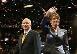 2008 Republican Presidential ticket; Sen. John McCain (AZ) and Gov. Sarah Palin (AK)