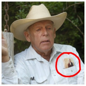 "Cliven Bundy, the Nevada Rancher has now decided that Republicans are weakened due to their refusal to stand proud and speak their minds on immigrants and ""the negro"". So Mr. Bundy and his wife are now ""Independents"".  However, notice the personal copy of the U.S. Constitution in his top pocket, he truly feels his position is not hate, but ""Real American""."